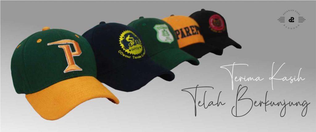 pesanan topi_produsen topi bandung