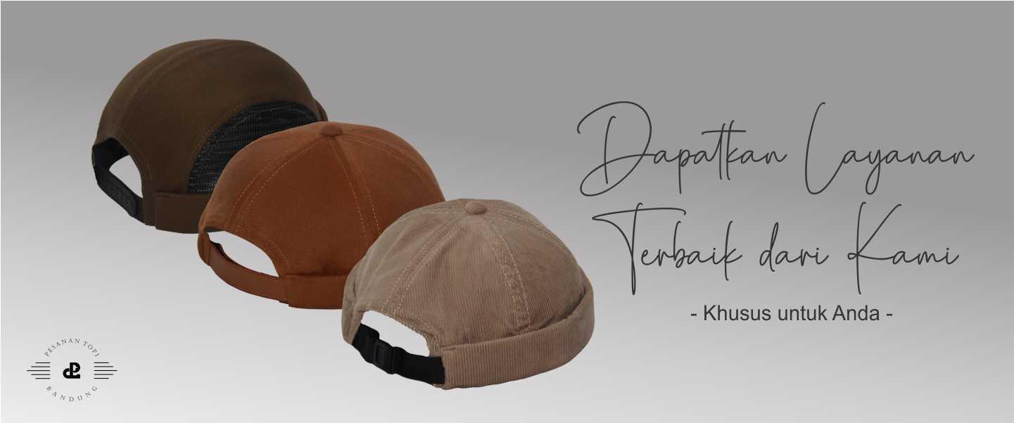 pesanan topi_pusat konveksi topi