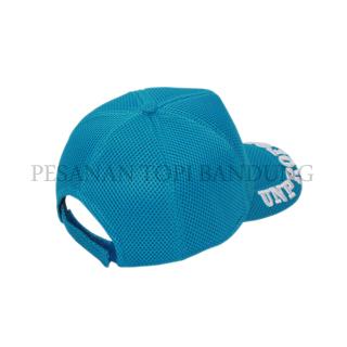 topi instansi biru