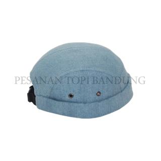 pesanan topi bandung_mikihat blue five panel