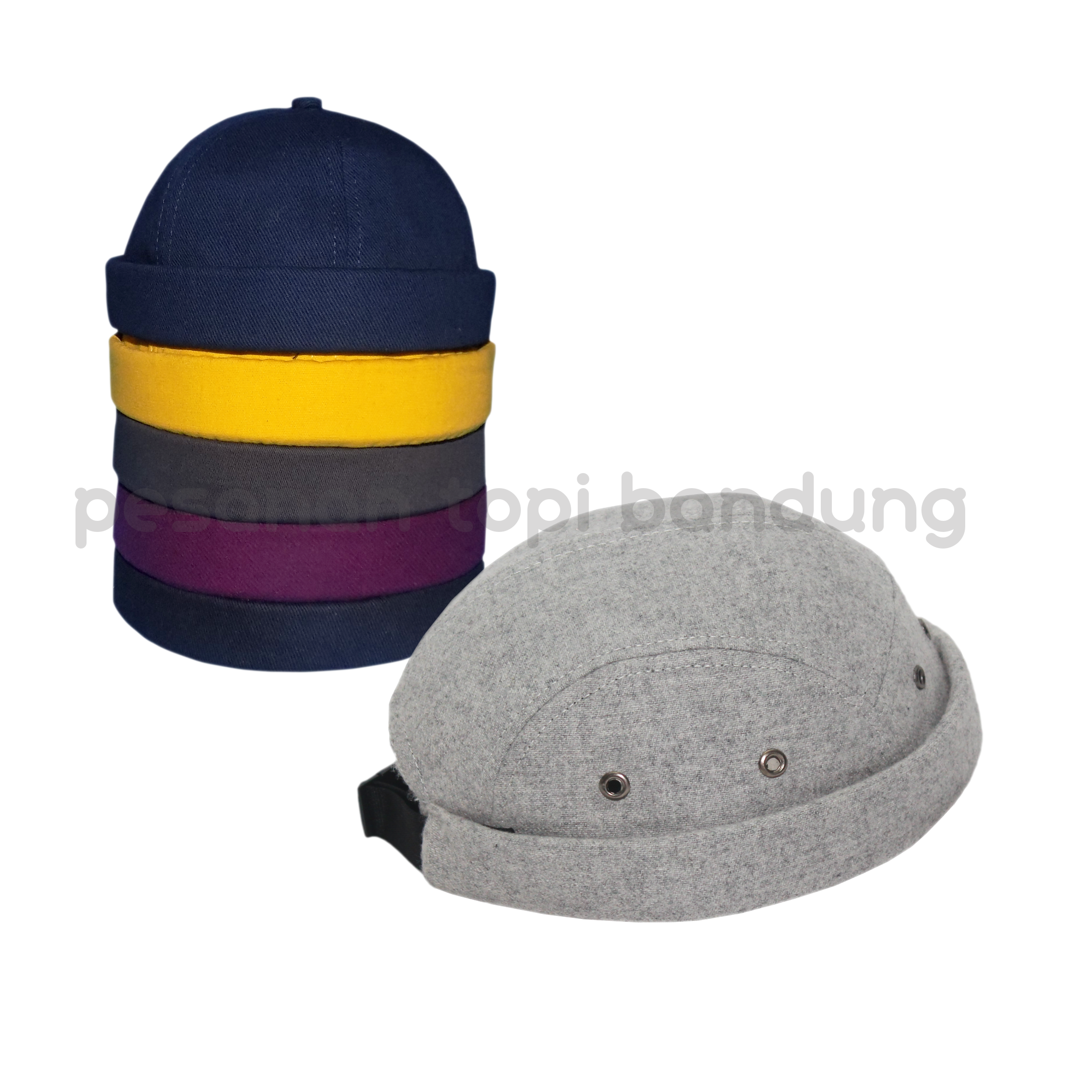 pesanan topi_mikihat 5 panel wool