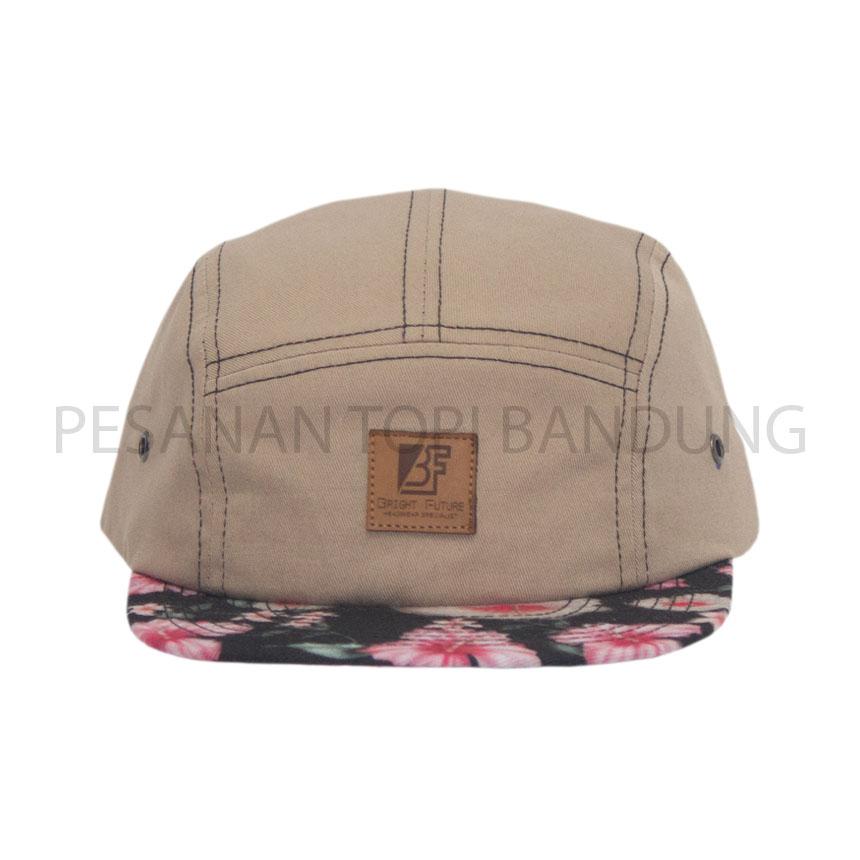 pesanan topi bandung_five panel cap