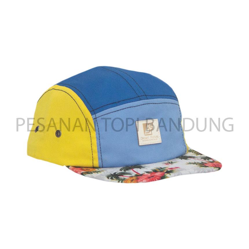 pesanan topi bandung_five panels