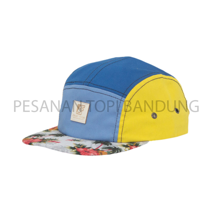 pesanan topi_five panel custom