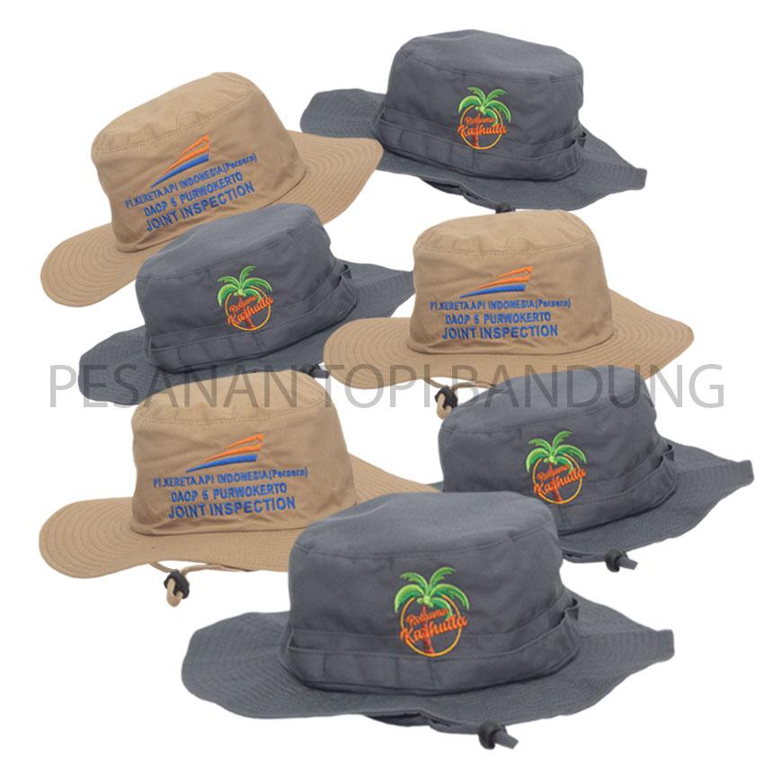 pesanan topi rimba