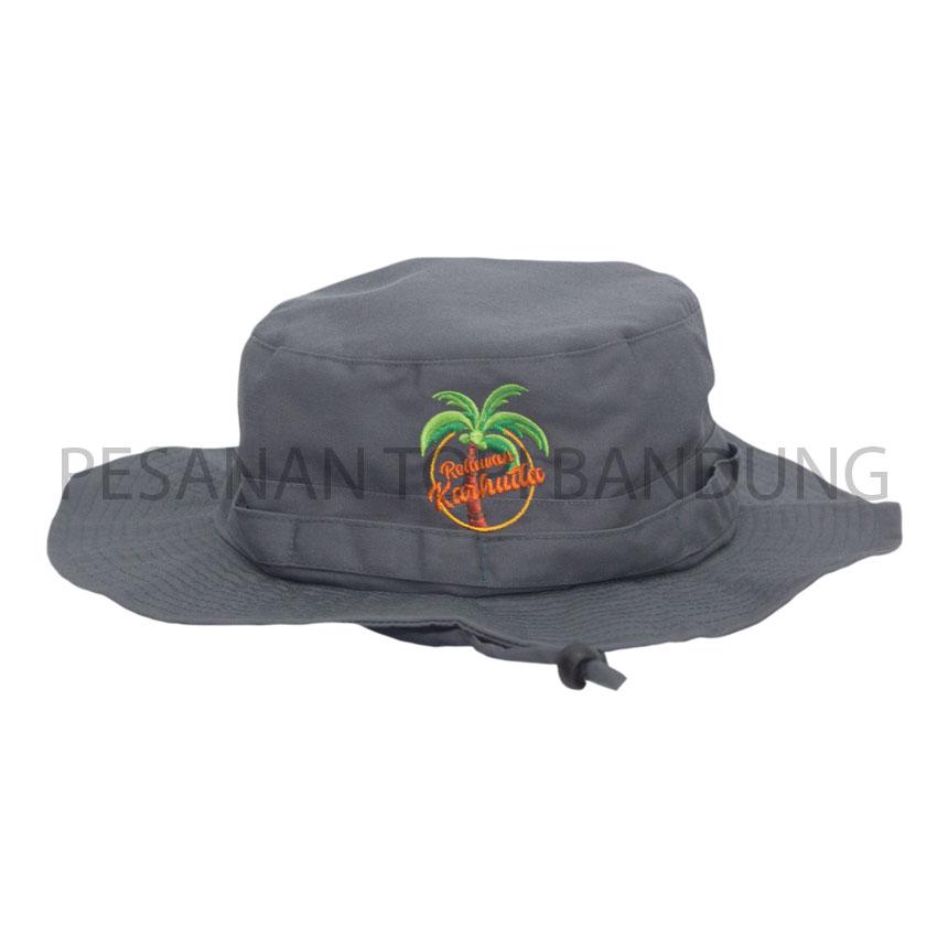 pesanan topi_konveksi topi rimba